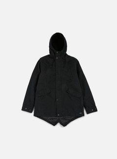Globe - Goodstock Thermal Fishtail Jacket, Nu Black