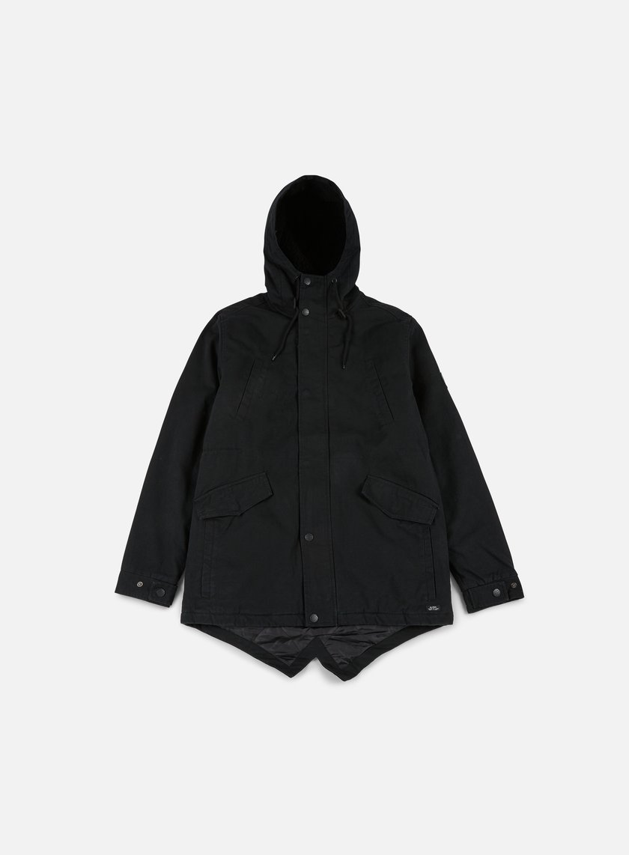 Globe - Goodstock Thermal Fishtail Jacket, Nu Black