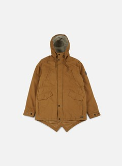 Globe - Goodstock Thermal Fishtail Jacket, Tobacco 1