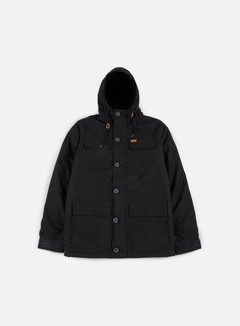 Globe - Goodstock Thermal Parka Jacket, Black 1