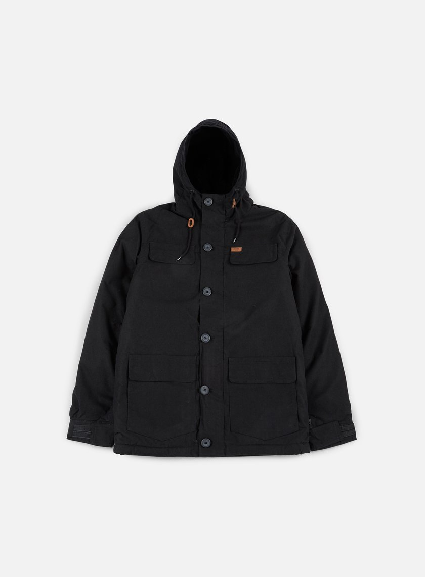 Globe - Goodstock Thermal Parka Jacket, Black