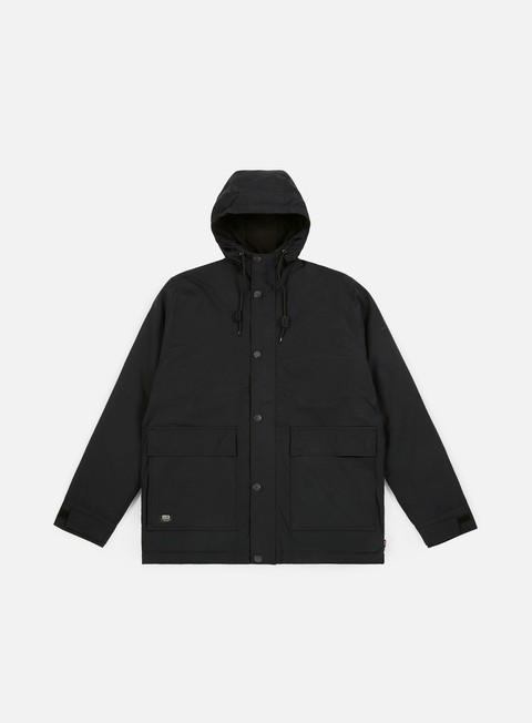 giacche globe goodstock thermal utility jacket black