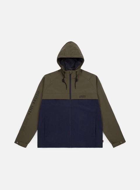 Sale Outlet Windbreaker Globe International Zip Thru Jacket