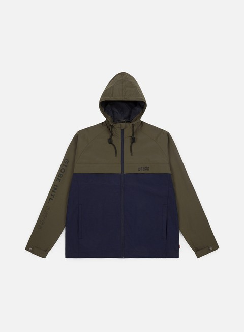 giacche globe international zip thru jacket ivy