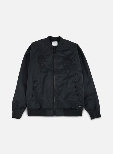 giacche globe stealth bomber jacket black