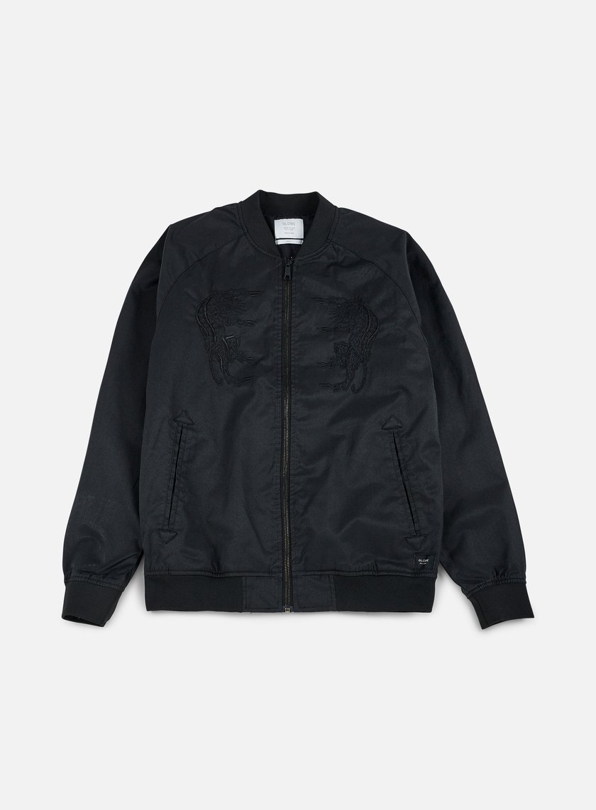 Globe - Stealth Bomber Jacket, Black