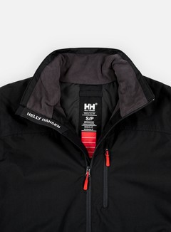 Helly Hansen - Crew Midlayer Jacket, Black 8