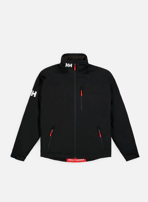 giacche helly hansen crew midlayer jacket black