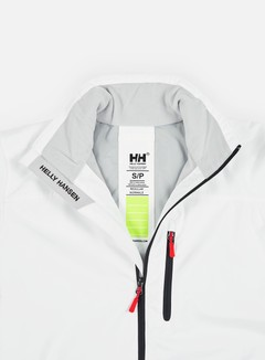 Helly Hansen - Crew Midlayer Jacket, Bright White 8
