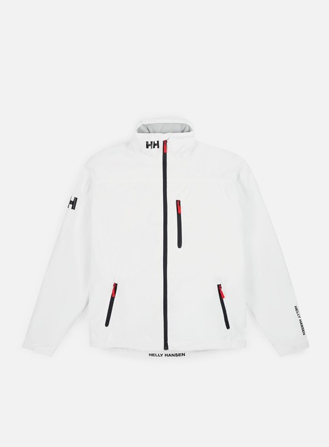 giacche helly hansen crew midlayer jacket bright white