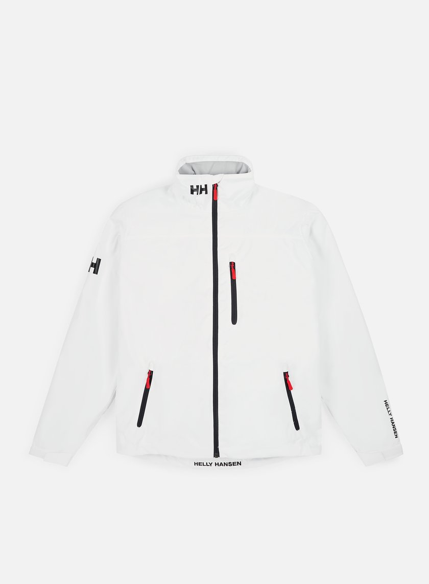 Helly Hansen - Crew Midlayer Jacket, Bright White