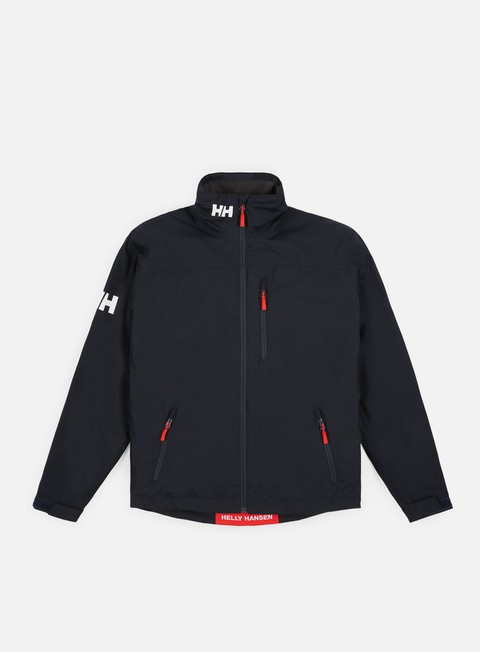 giacche helly hansen crew midlayer jacket navy