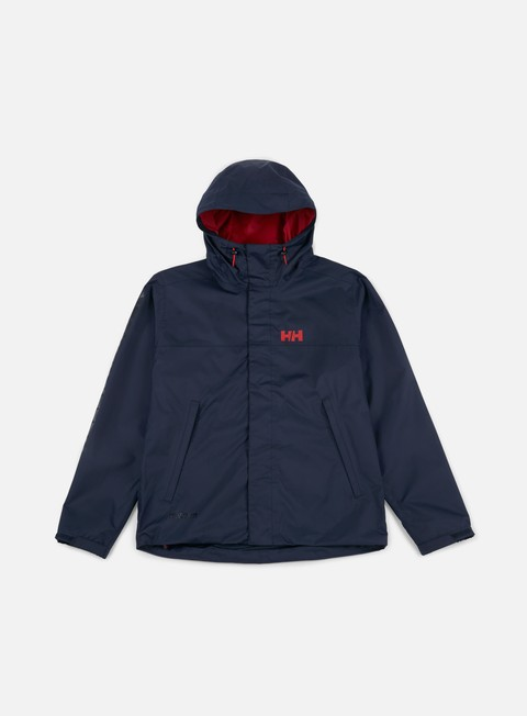 giacche helly hansen ervik jacket evening blue