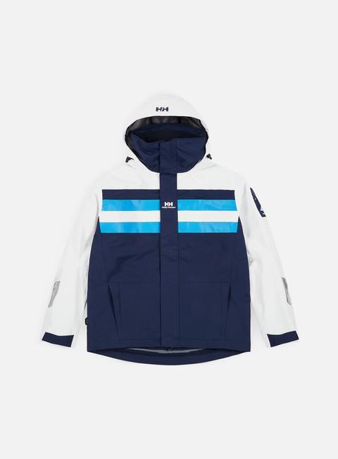 giacche helly hansen hh heritage sail jacket evening blu