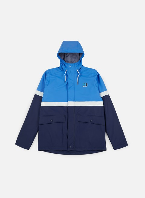 giacche helly hansen hh rain jacket blue water
