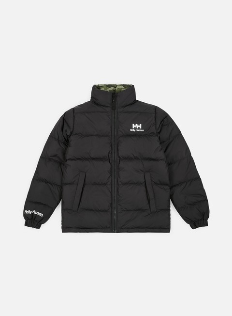 giacche helly hansen hh reversible down jacket black