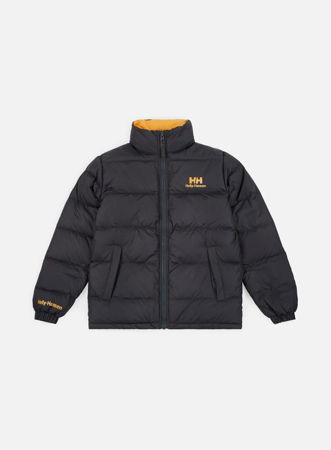 giacche helly hansen hh reversible down jacket ebony