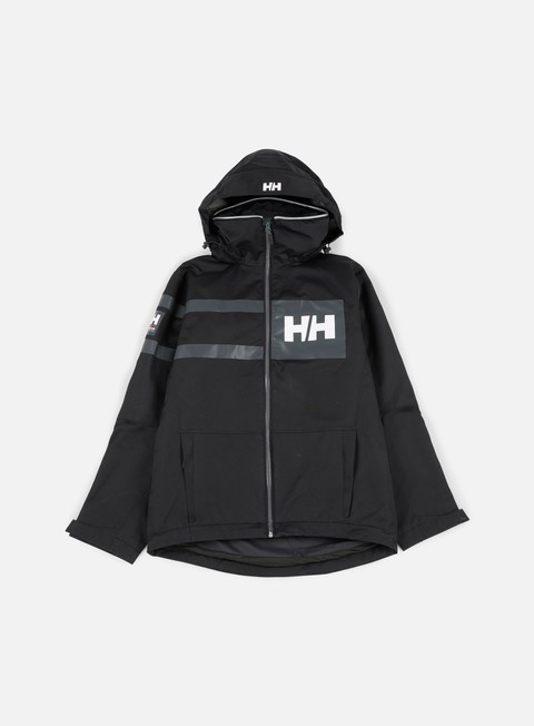 giacche helly hansen salt power jacket black