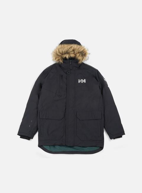 giacche helly hansen svalbard parka jacket black