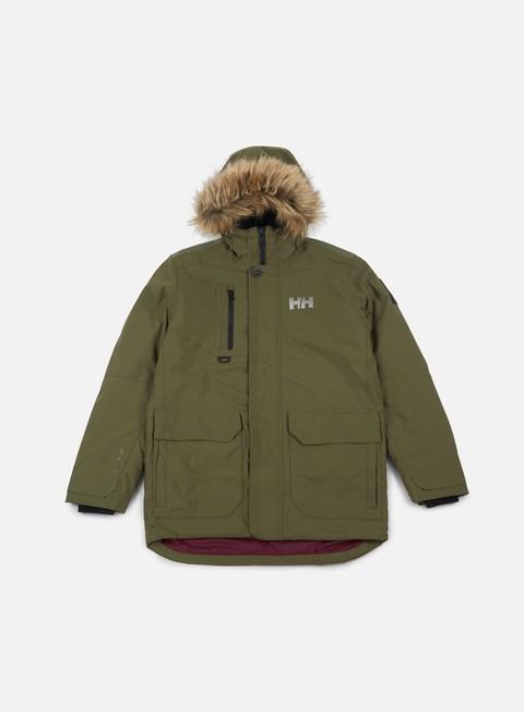 giacche helly hansen svalbard parka jacket ivy green
