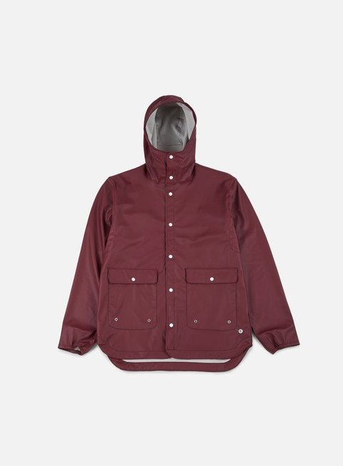 giacche herschel forecast parka jacket windsor wine