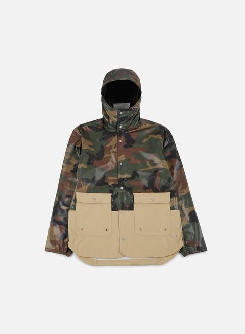 giacche herschel forecast parka jacket woodland camo incense