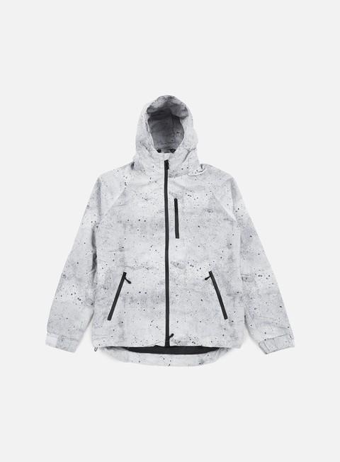 giacche huf 10k tech jacket concrete
