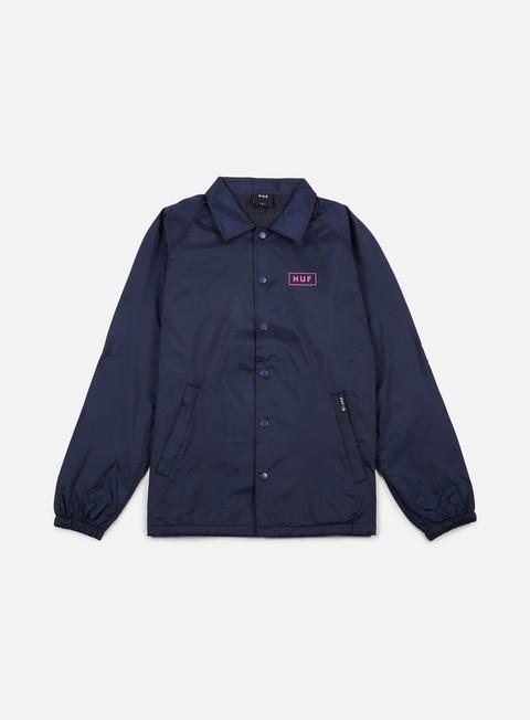 Outlet e Saldi Giacche Leggere Huf Bar Logo Choaches Jacket