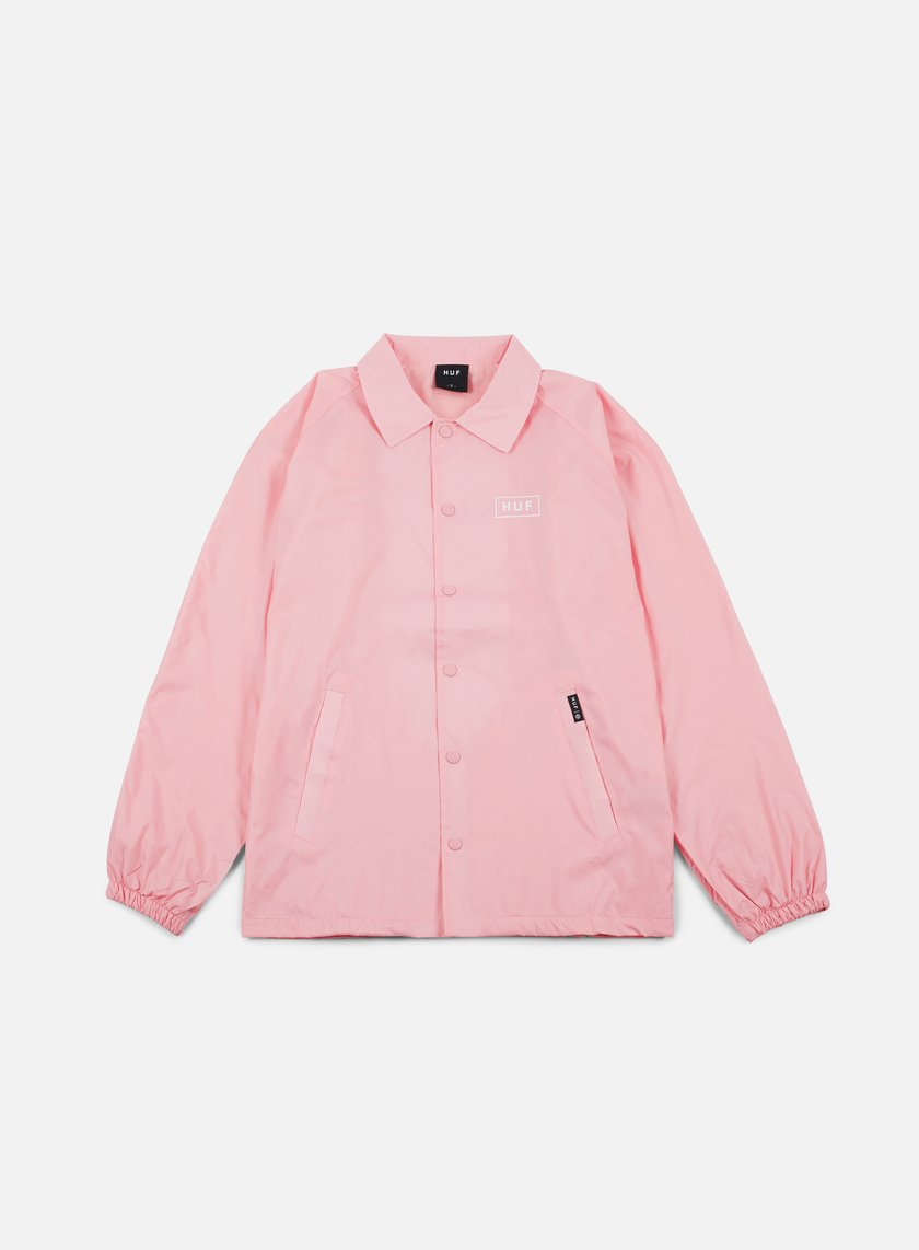 Huf - Bar Logo Choaches Jacket, Pink