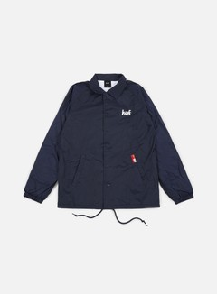 Huf - Chocolate NY Cop Car Coach Jacket, Navy 1
