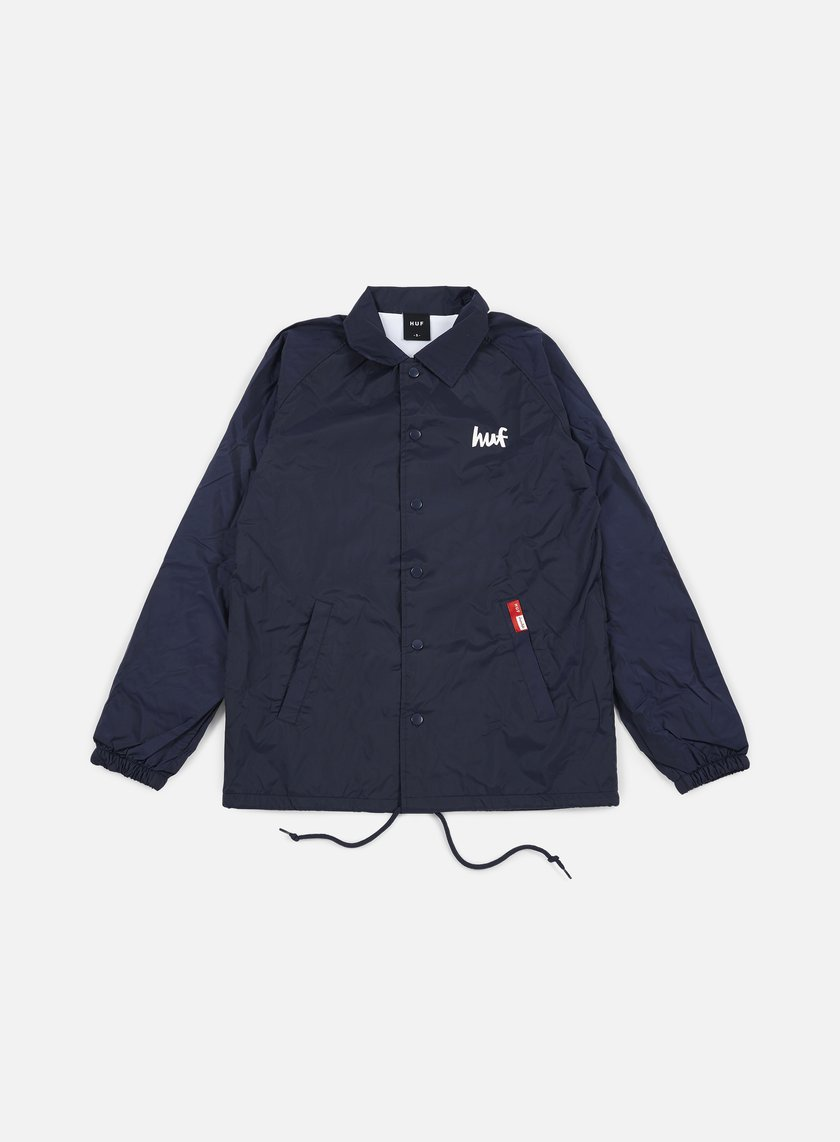 Huf - Chocolate NY Cop Car Coach Jacket, Navy