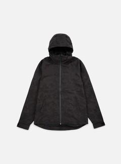 Huf - Classic Shell Camo Jacket, Black 1