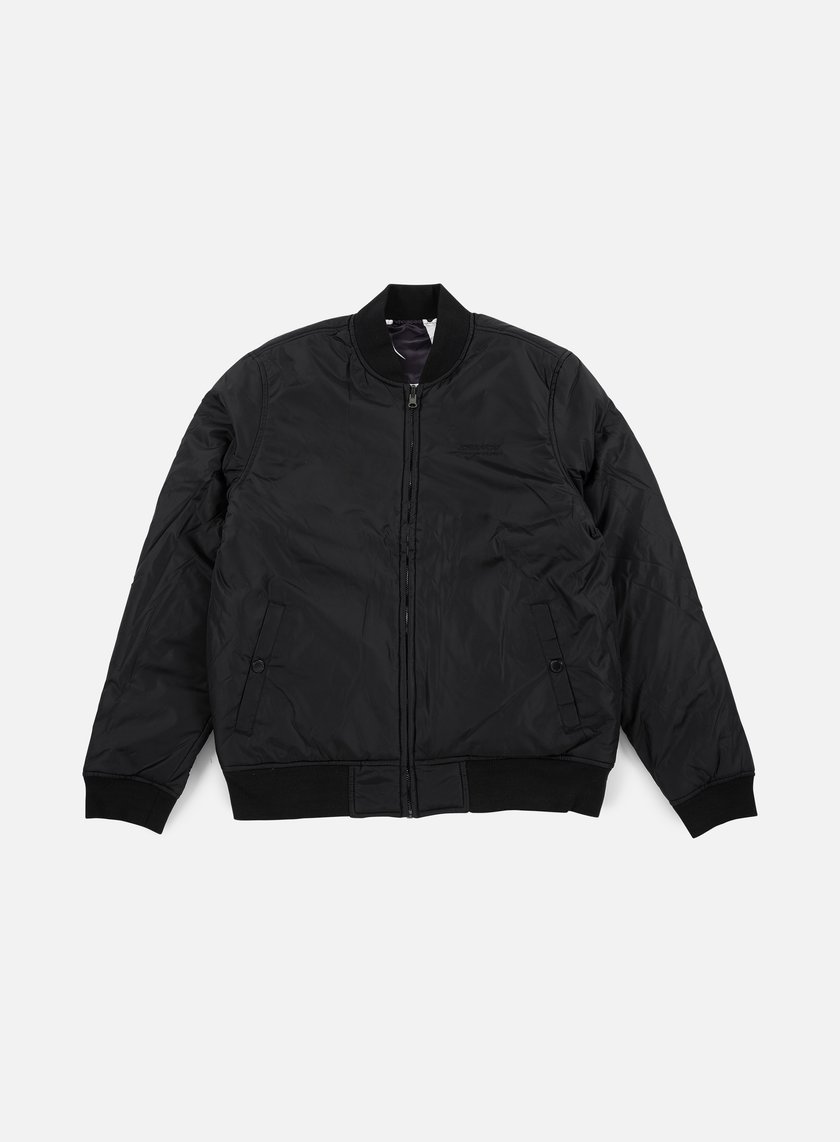 Huf - Cleon Reversible Bomber Jacket, Black