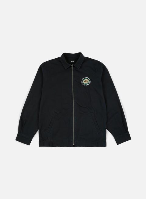 giacche huf desert trip gas jacket black