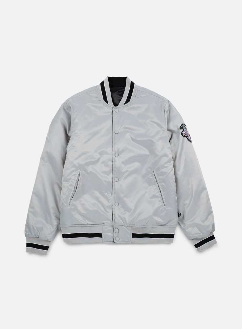 Huf - Easy Reversible Satin Jacket, Silver