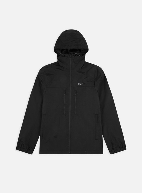 Huf Essentials Zip Standard Shell Jacket