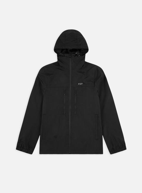 Hooded Jackets Huf Essentials Zip Standard Shell Jacket