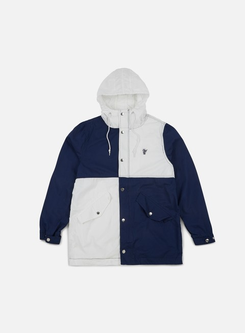 giacche huf expedition parka blue