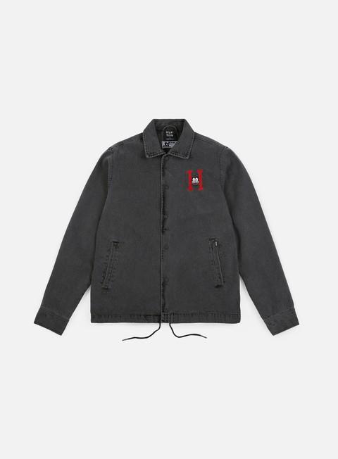 Giacche Leggere Huf Felix Denim Coaches jacket