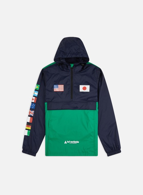 Sale Outlet Light Jackets Huf Flags Anorak Jacket