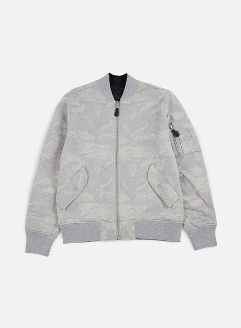 giacche huf ma 1 tonal jacket grey