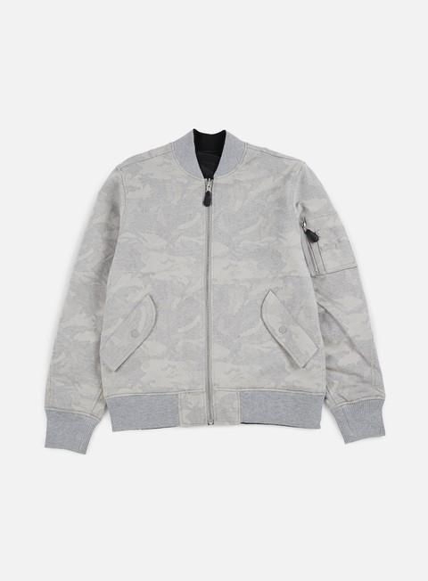 giacche huf ma 1 tonal jacket grey
