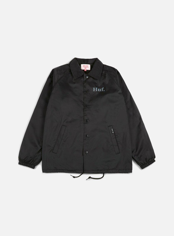 Huf - Pink Panther Coach Jacket, Black