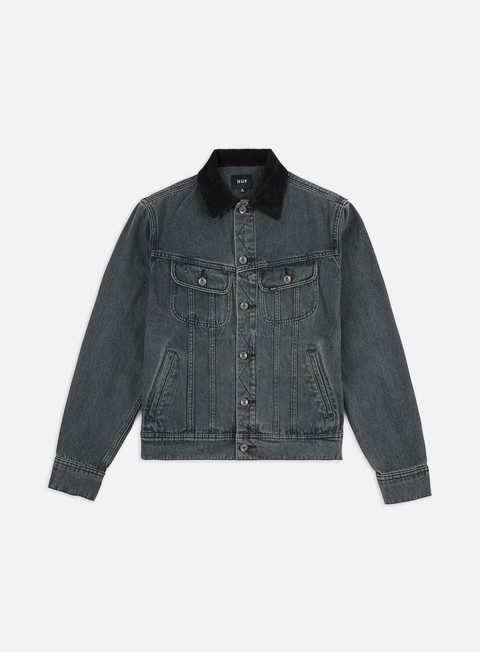 Outlet e Saldi Giacche Leggere Huf Prayers Denim Jacket