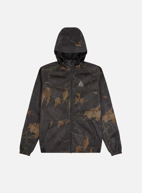 Windbreaker Huf Realtree Network Lightweight Jacket