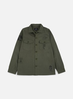 Huf - Scrawl BDU Jacket, Olive Drab