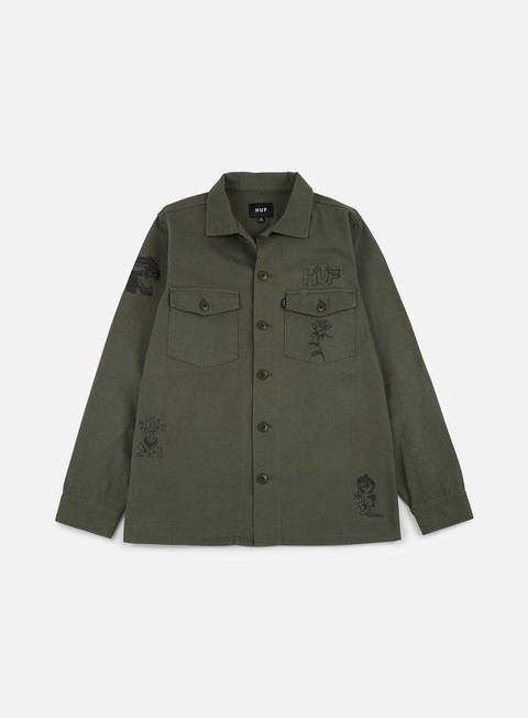Light Jackets Huf Scrawl BDU Jacket