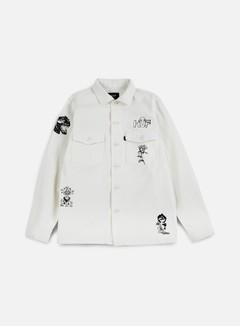 Huf - Scrawl BDU Jacket, White