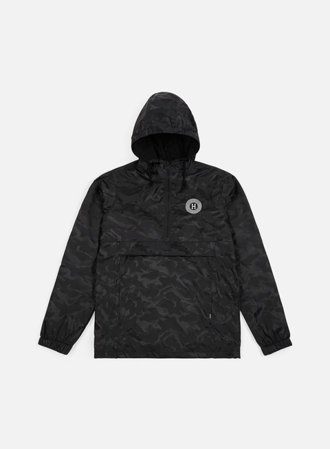 Light Jackets Huf Spitfire Packable Anorak