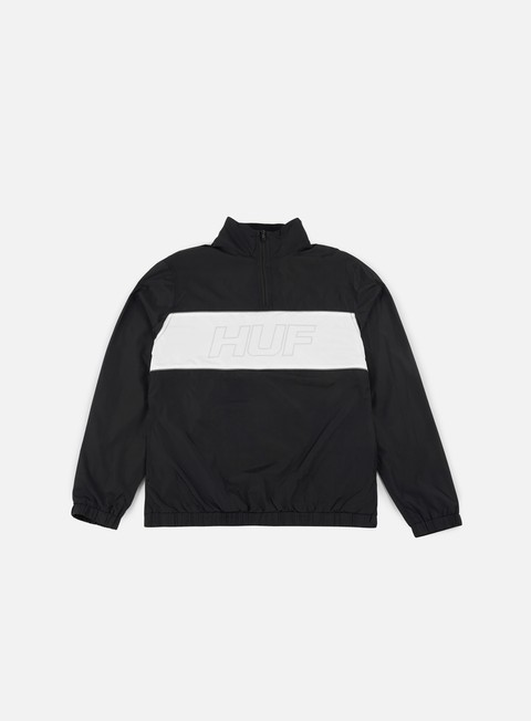 Light Jackets Huf Stadium Half Zip Track Jacket